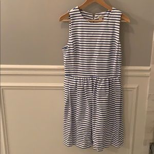 Striped sleeveless sundress